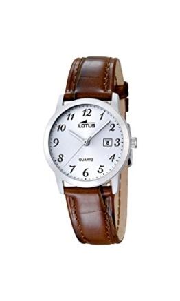 Lotus Damen-Armbanduhr Analog Quarz Leder 18240/2 - 1