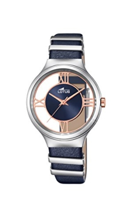 Lotus Damen-Armbanduhr Analog Quarz Leder 18337/2 - 1
