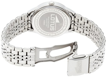 Lotus Damen-Armbanduhr XS Analog Quarz Edelstahl 15884/1 - 2