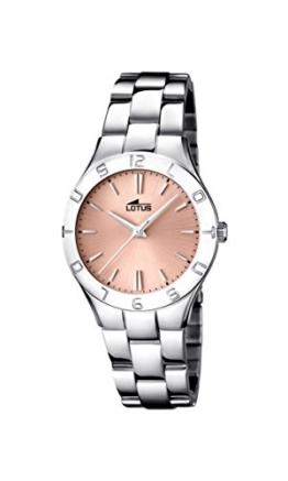 Lotus Damen-Armbanduhr XS Analog Quarz Edelstahl 15895/2 - 1