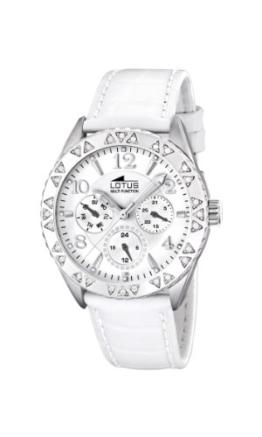 Lotus Damen-Uhren Quarz mit Lederband 15681/1 - 1