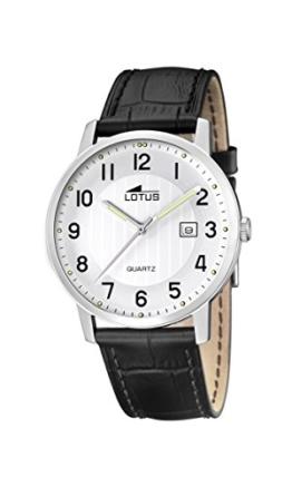 Lotus Herren-Armbanduhr Analog Quarz Leder 15620/1 - 1