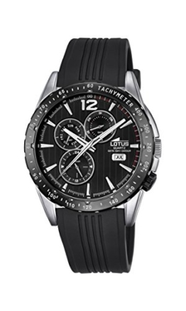 Lotus Herren-Armbanduhr Analog Quarz Plastik 18310/5 - 1