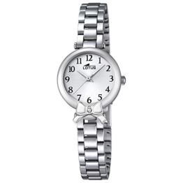 LOTUS Jugend-Uhr Junior Collection Analog Edelstahl-Armband silber Chronograph-Uhr Ziffernblatt silber UL18264/1 - 1