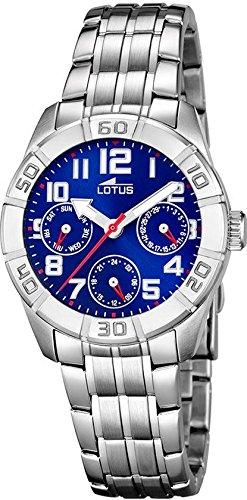 Lotus Jungen Analog Quarz Uhr mit Edelstahl Armband 15831/5 - 1