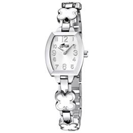 Lotus Mädchen Analog Quarz Uhr mit Edelstahl Armband 15771/1 - 1