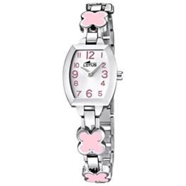 Lotus Mädchen Analog Quarz Uhr mit Edelstahl Armband 15771/2 - 1