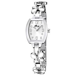 Lotus Mädchen Analog Quarz Uhr mit Edelstahl Armband 15827/1 - 1
