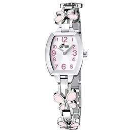 Lotus Mädchen Analog Quarz Uhr mit Edelstahl Armband 15827/2 - 1