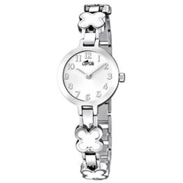 Lotus Mädchen Analog Quarz Uhr mit Edelstahl Armband 15828/1 - 1