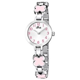 Lotus Mädchen Analog Quarz Uhr mit Edelstahl Armband 15828/2 - 1