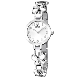 Lotus Mädchen Analog Quarz Uhr mit Edelstahl Armband 15829/1 - 1