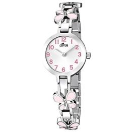 Lotus Mädchen Analog Quarz Uhr mit Edelstahl Armband 15829/2 - 1