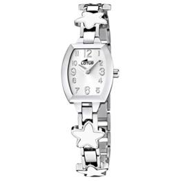 Lotus Mädchen Analog Quarz Uhr mit Edelstahl Armband 15833/1 - 1
