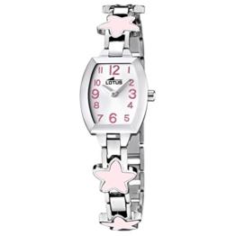 Lotus Mädchen Analog Quarz Uhr mit Edelstahl Armband 15833/2 - 1