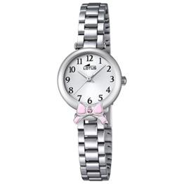 Lotus Mädchen Analog Quarz Uhr mit Edelstahl Armband 18264/2 - 1