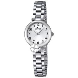 Lotus Mädchen Analog Quarz Uhr mit Edelstahl Armband 18266/1 - 1