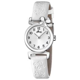 Lotus Mädchen Analog Quarz Uhr mit Leder Armband 15948/1 - 1