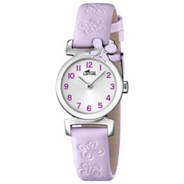 Lotus Mädchen Analog Quarz Uhr mit Leder Armband 15948/3 - 1