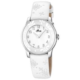 Lotus Mädchen Analog Quarz Uhr mit Leder Armband 15950/1 - 1