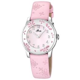 Lotus Mädchen Analog Quarz Uhr mit Leder Armband 15950/2 - 1
