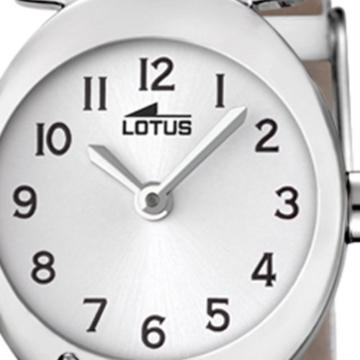 Lotus Mädchen Analog Quarz Uhr mit Leder Armband 18173/1 - 2