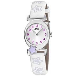 Lotus Mädchen Analog Quarz Uhr mit Leder Armband 18173/3 - 1