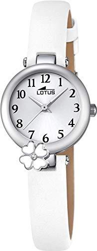 Lotus Mädchen Analog Quarz Uhr mit Leder Armband 18267/1 - 1