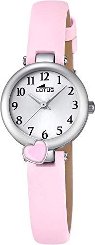Lotus Mädchen Analog Quarz Uhr mit Leder Armband 18268/2 - 1