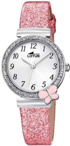 Lotus Mädchen Analog Quarz Uhr mit Nylon Armband 18584/1 - 1