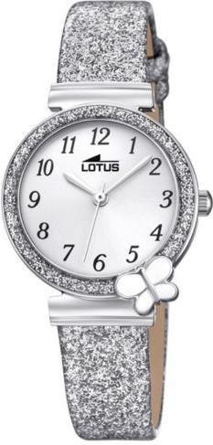 Lotus Mädchen Analog Quarz Uhr mit Nylon Armband 18584/2 - 1