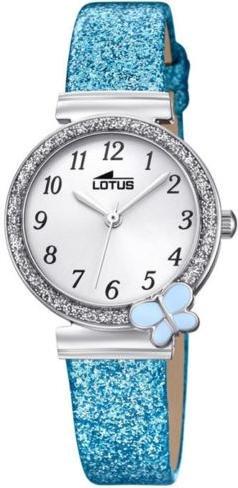 Lotus Mädchen Analog Quarz Uhr mit Nylon Armband 18584/3 - 1