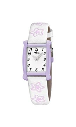 Lotus Mädchen-Armbanduhr Analog Quarz Leder 18256/4 - 1