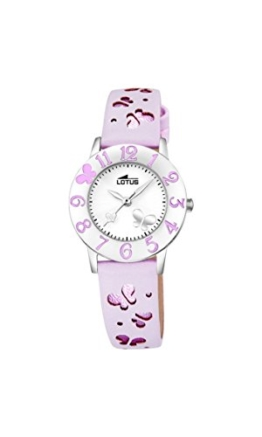 Lotus Mädchen-Armbanduhr Analog Quarz Leder 18269/3 - 1