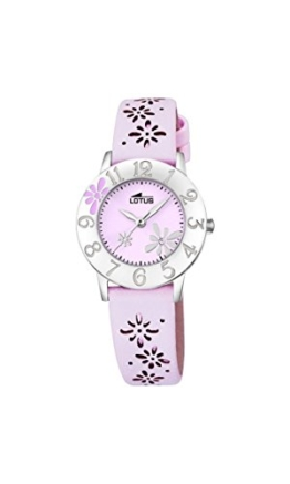 Lotus Mädchen-Armbanduhr Analog Quarz Leder 18270/3 - 1