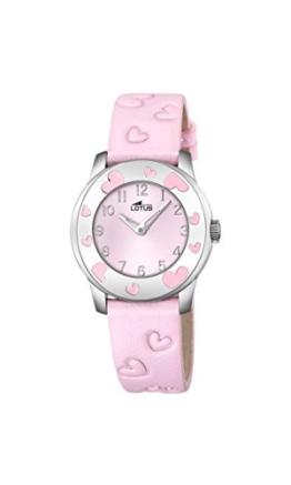 Lotus Mädchen-Armbanduhr Analog Quarz Leder 18273/2 - 1