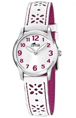 Lotus Mdchen Analog Quarz Uhr mit Leder Armband 15708/2 - 1