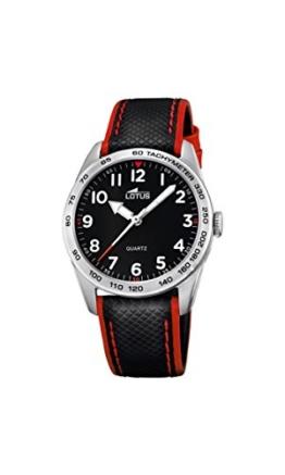 Lotus Unisex Analog Quarz Uhr mit Leder Armband 18276/3 - 1