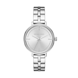 Michael Kors Damen Analog Quarz Uhr mit Edelstahl Armband MK3791 - 1