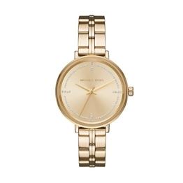 Michael Kors Damen Analog Quarz Uhr mit Edelstahl Armband MK3792 - 1