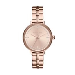 Michael Kors Damen Analog Quarz Uhr mit Edelstahl Armband MK3793 - 1