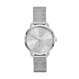 Michael Kors Damen Analog Quarz Uhr mit Edelstahl Armband MK3843 - 1