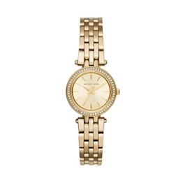 Michael Kors Damen Analog Quarz Uhr mit Weißgold Armband MK3295 - 1