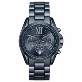 Michael Kors Damen-Armbanduhr Analog Quarz One Size, blau, blau - 1