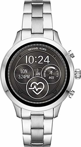 Michael Kors Damen Digital Smart Watch Armbanduhr mit Edelstahl Armband MKT5044 - 1