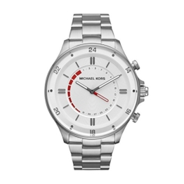 Michael Kors Herren Analog Quarz Smart Watch Armbanduhr mit Edelstahl Armband MKT4013 - 1