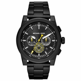 Michael Kors Herren Analog Quarz Uhr mit Edelstahl Armband MK8600 - 1