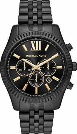 Michael Kors Herren Analog Quarz Uhr mit Edelstahl Armband MK8603 - 1
