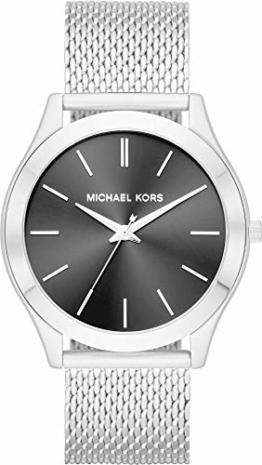 Michael Kors Herren Analog Quarz Uhr mit Edelstahl Armband MK8606 - 1
