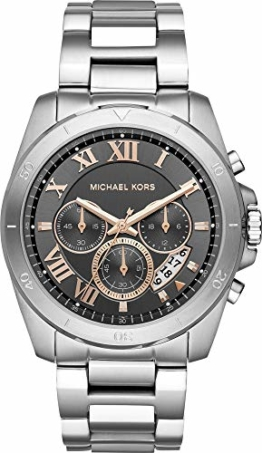 Michael Kors Herren Analog Quarz Uhr mit Edelstahl Armband MK8609 - 1